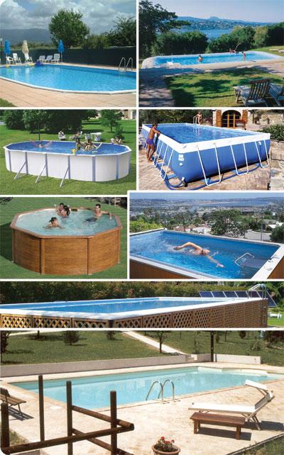 Home service servizi piscina vendita piscine torino sia interrate che idromassaggio da - Piscine smontabili da giardino ...